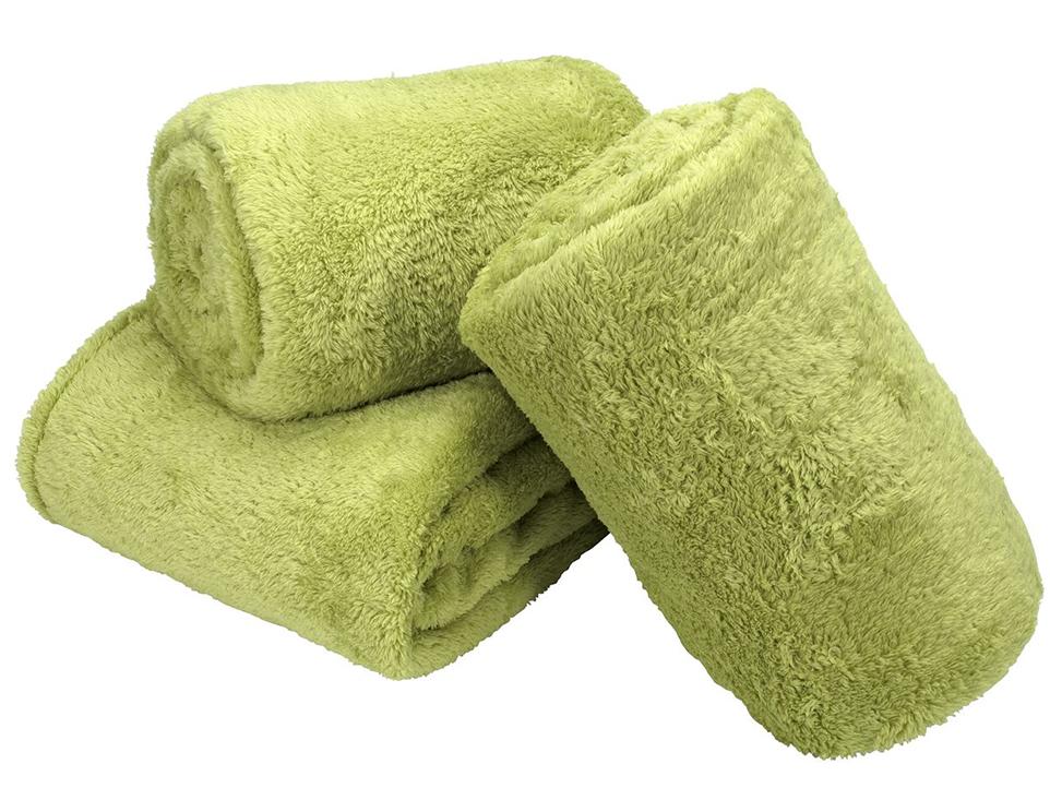 patura moale verde lamaie